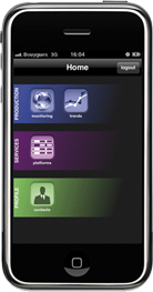 application Iphone Agarik Live Services