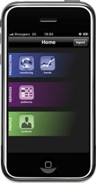 application Iphone Agarik Live Services