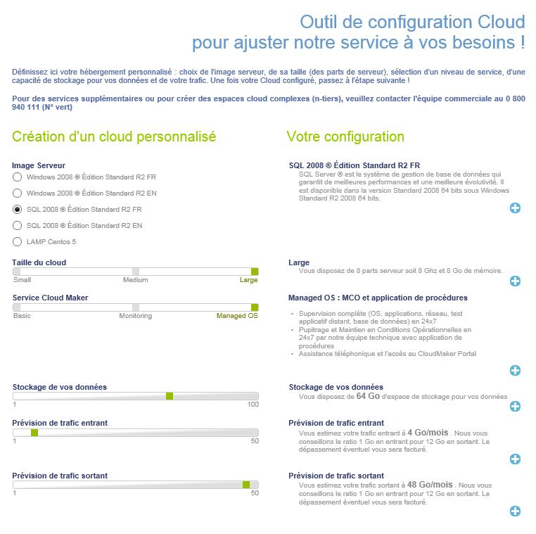 CloudMaker configurator